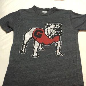 Super soft Georgia Bulldog Tshirt